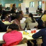 Residents gather to visualize healthy neighborhood