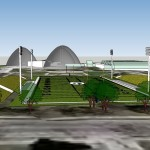 Renderings reveal potential locations for Packers field at Mitchell Park