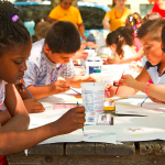 Free mobile program brings art program to neighborhood parks