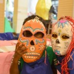 Milwaukee Mijas create masks for Dia De Los Muertos parade