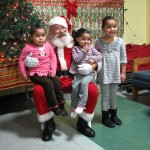 Santa drops by at Journey House breakfast