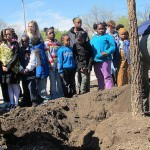 Brown Street Academy renamed 'green' for Arbor Day