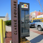 Five gateway markers installed in Clarke Square