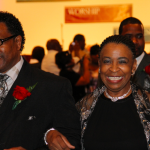 Hundreds of African American couples re-tie the knot