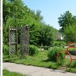 Photo 12: The colorful bike racks of Thurston Woods