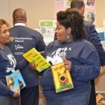 Gift of books benefits children 'Next Door'