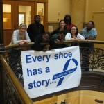 Child abuse awareness month at City Hall