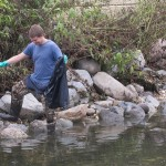 Volunteers clean up KK River in advance of trail grand opening