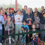 Cyclists applaud scenic slice of KK River Trail