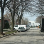 The now-open 3400 block of Buffum Street, looking north.