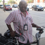 On the Block: King Drive Bicyclist