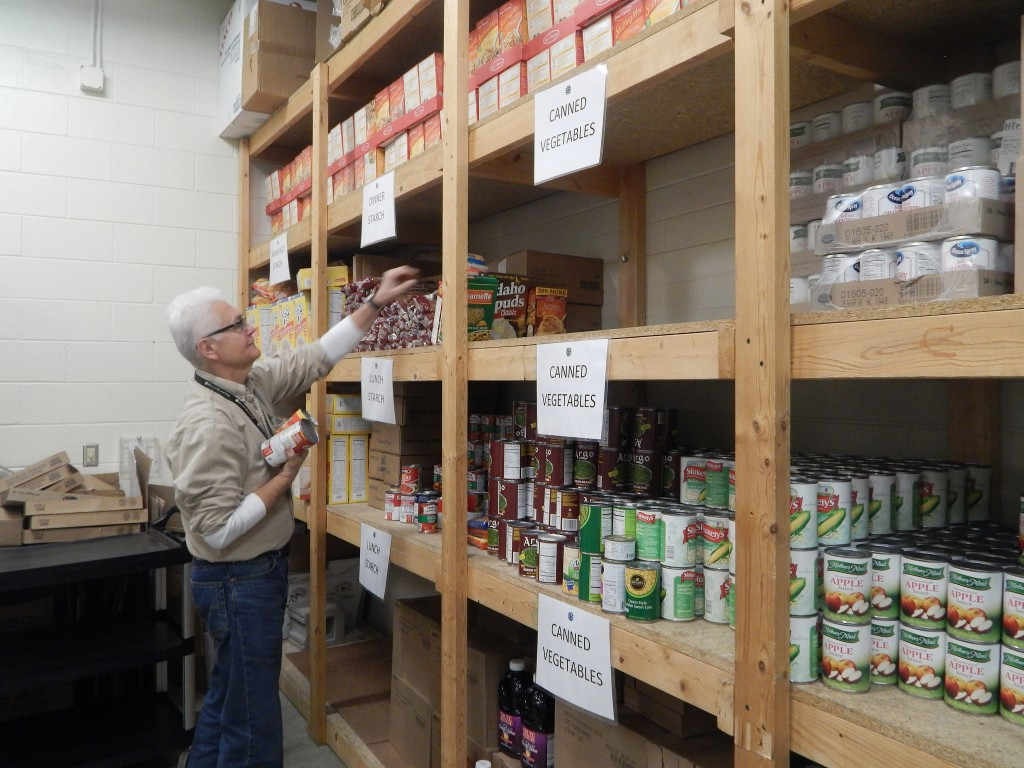 Al Luzi Said The Agape Community Center Food Pantry Stocks Everything From  Canned Food To Personal