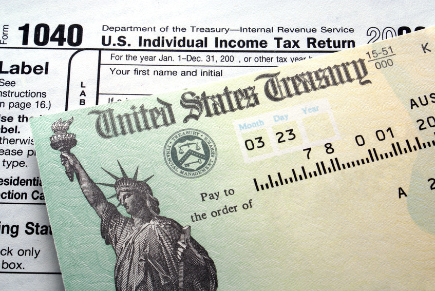 Scams targeting taxpayers are common leading up to April 15, the deadline for filing tax returns. (Photo courtesy of the IRS)