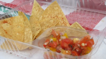 That Salsa Lady specializes in fresh salsas featuring local ingredients and freshly made tortilla chips. (Photo by Molly Rippinger)