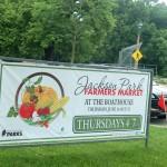 Farmers market opens in Jackson Park