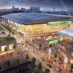 Supporters of a new Bucks arena look forward to a revitalized business and entertainment district around the facility. (Courtesy of the Milwaukee Bucks)
