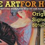 Art gallery donates collection to Milwaukee Habitat
