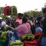 Westlawn children start school year with new backpacks, school supplies