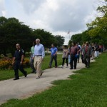 Mayor joins neighbors for walk in Washington Park