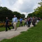 Mayor joins neighbors for walk in Washington Park