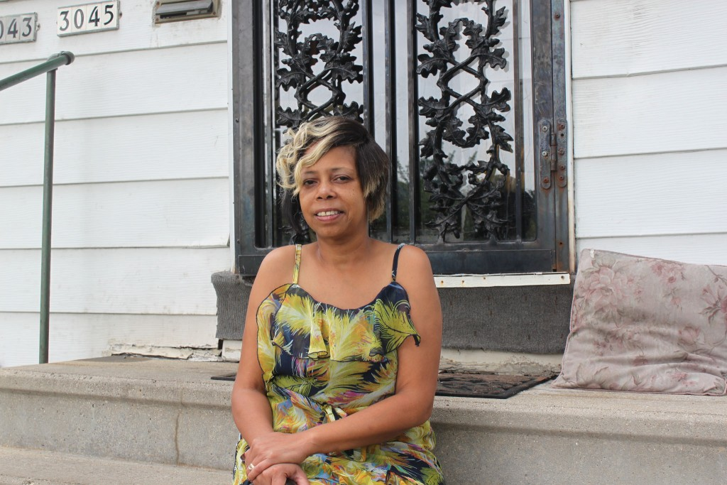 "After reaching out to qualified home foreclosure mediation counselors, LaDawn Meledy was able to keep her Borchert Field residence. ""I wanted to fight for my home,"" she said. (Photo by Matthew Wisla)"