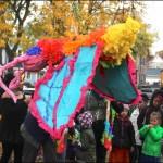 Día de los Muertos celebration includes piñatas for first time