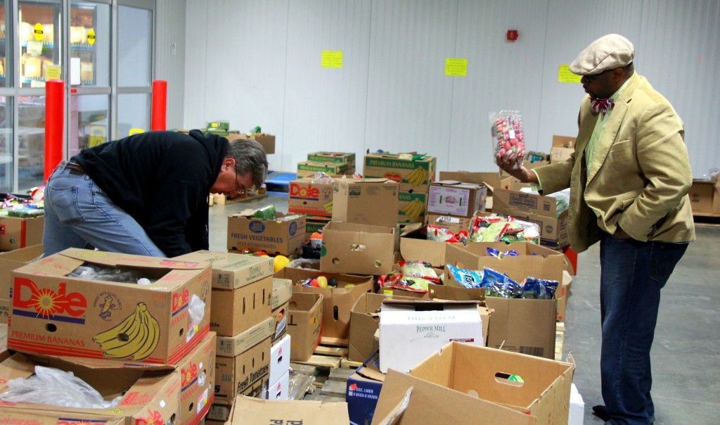 The holiday season is an excellent time to donate to local food pantries. (Photo by Molly Rippinger)