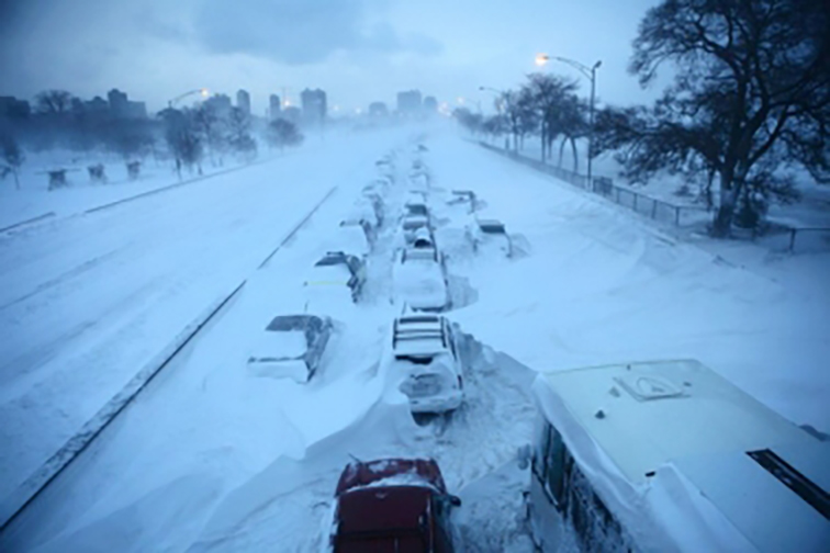 Winter weather can make driving dangerous, so it is best to be prepared when traveling. (Photo courtesy of Ready Wisconsin)