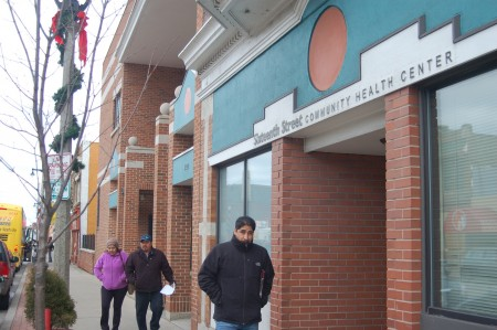 The Sixteenth Street Community Health Center, 1032 S. Cesar E. Chavez Drive, has served as an SDC VITA program site since 2013. (Photo by Edgar Mendez)