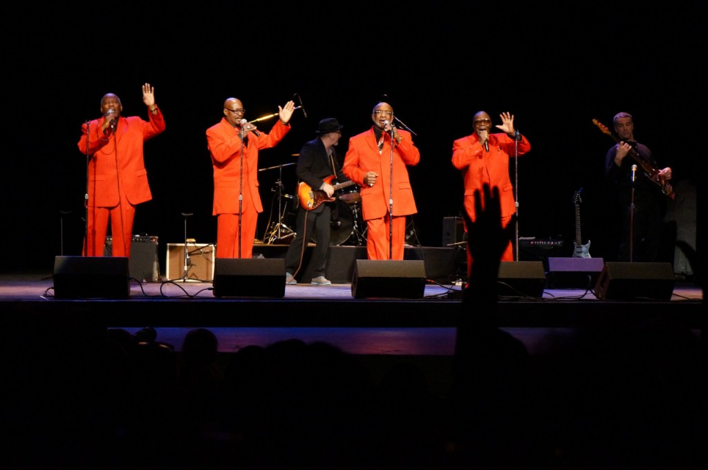 The Masonic Wonders perform at the Pabst Theater in 2014 during the first Milwaukee Gospel Jubilee. (Photo by Adam Carr)