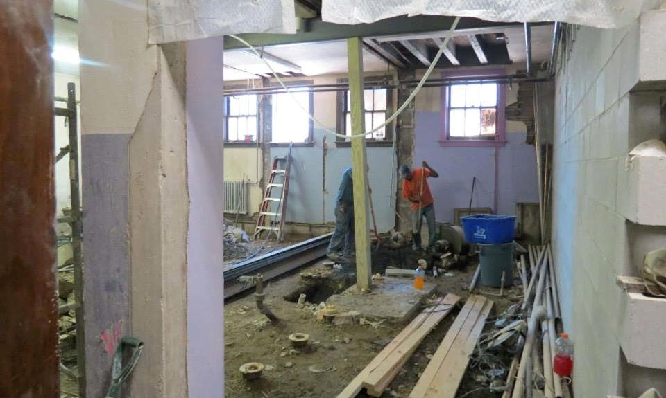 Neu-Life Community Development is undergoing a reconstruction project at its headquarters, after 15 years in the building.