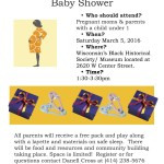 Announcing Metcalfe Park community baby shower