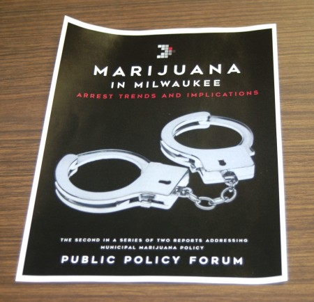 The Public Policy Forum report is the second of two examining marijuana policy implications in Milwaukee. (Photo by Edgar Mendez)