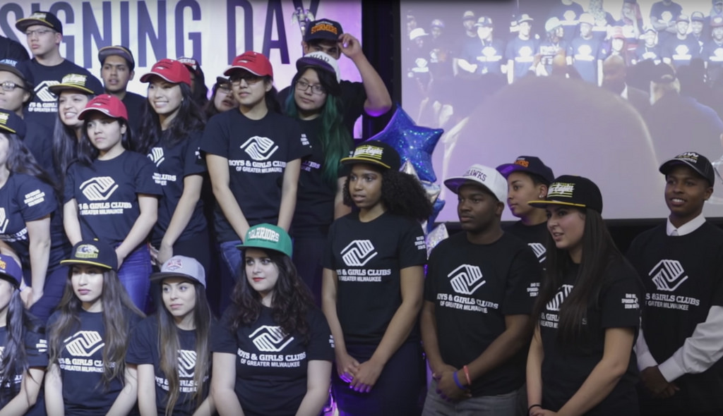 Participants in the Boys and Girls Clubs' college access programming amassed a record $6 million in scholarship offers this year. (Photo by James Ragen)