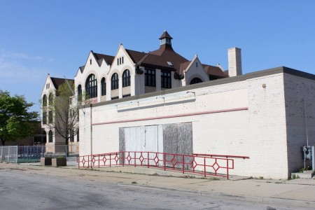 Milwaukee's Black Holocaust Museum (foreground) may reopen as a tenant in a new building to be constructed on and around its current site. (Mark Doremus photo)