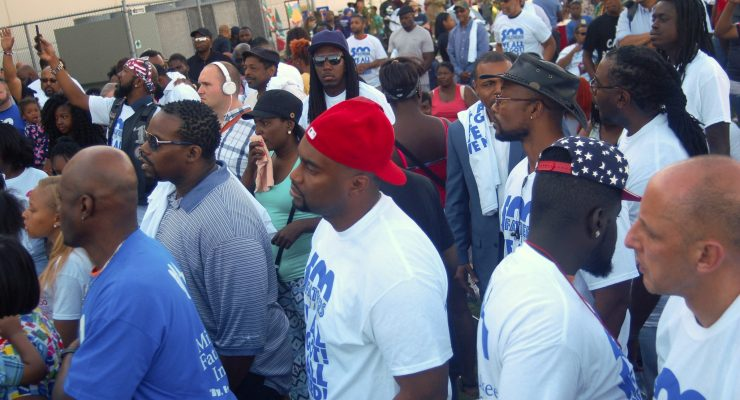 Fathers pledge to help reduce violence in city