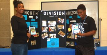 Two North Division students compete for 'fan favorite' in national app competition
