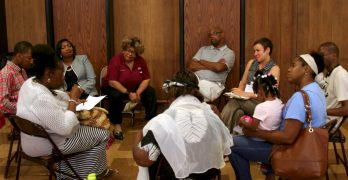 Black residents share stories of police misconduct, demand accountability
