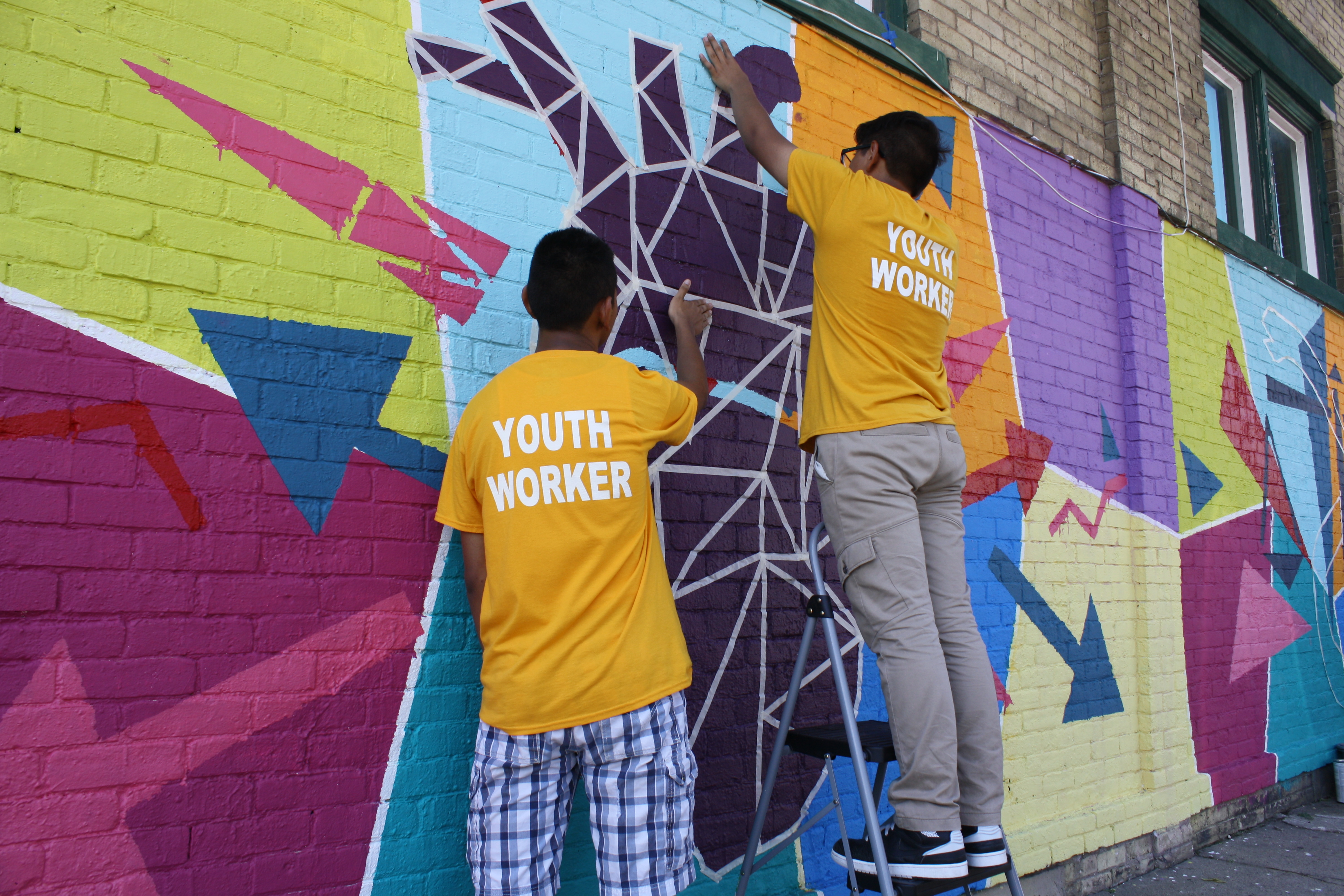 Save the date health equity mural unveiling and for Education mural