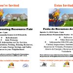 Summer Housing Resource Fair at Journey House