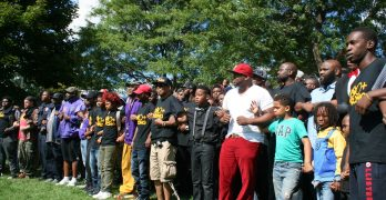 300+ Strong rally encourages unity, amplifies black voices