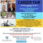 Invite to interview at Milwaukee's 16th Annual Diversity Employment Day Career Fair