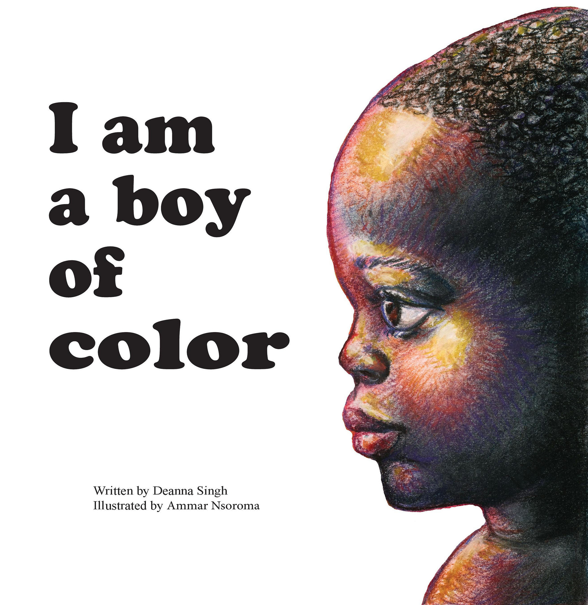 """""""I Am a Boy of Color"""" can be purchased online and will soon be available in area bookstores. (Image courtesy of Orange Hat Publishing)"""