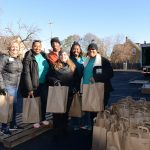 Aurora Family Services distributes Thanksgiving meals to needy families