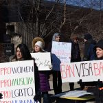 UWM community protests federal visa and immigration ban