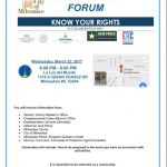 Know Your Rights information forum