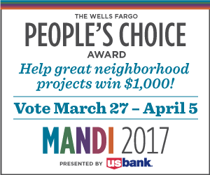 The Wells Fargo People's Choice Award, MANDI 2017