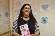 Spoken word artist uses poetry to connect with students, promote change