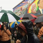 Community members celebrate new mural documenting history of UMOS