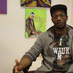 Artist Mikal Floyd-Pruitt combines hip-hop, painting, sculpture in 'creative mash-up'